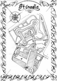 Mapa Stínadel